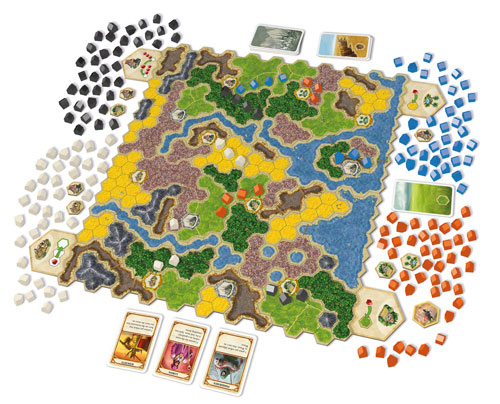 Kingdom Builder - foto: Queen Games