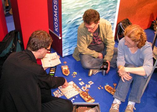 met een passende vloer voor Teuber's zeevaartspel