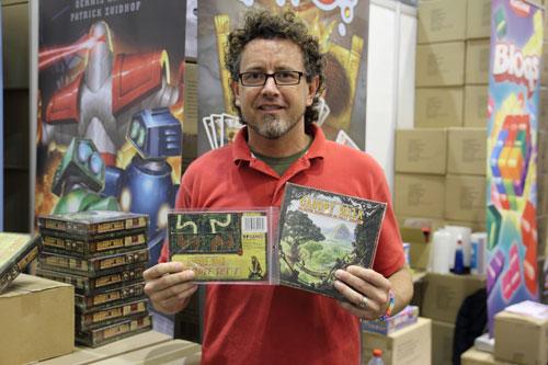de co-auteur van RoboRama met zijn eigen spel