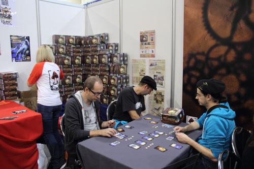 het deck building spel Time Masters