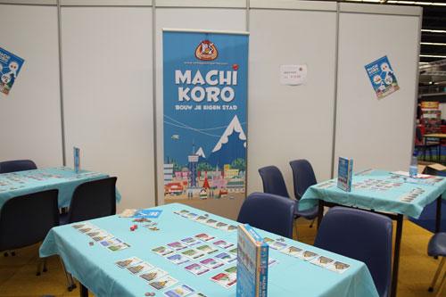 De Machi Koro stand