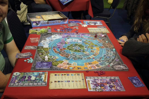het mooie spelmateriaal van Realm of Wonder