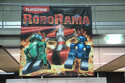 RoboRama viel op