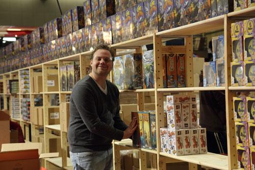 Jurgen van Selecta/Tactic zet de koopjes klaar