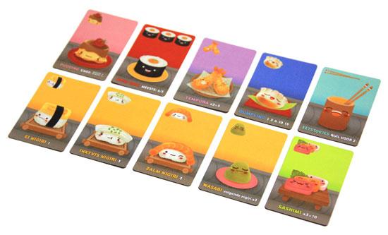 sushi-go-kaarten