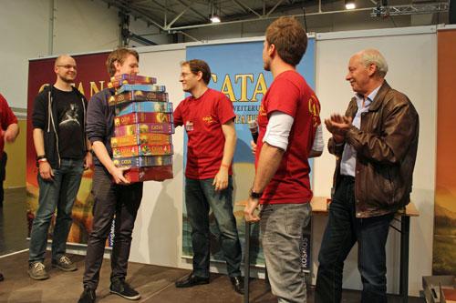 winnaar Tim van den Bersselaar (foto: Kosmos)