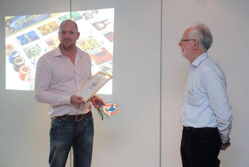 Maarten Heerze en Han Heidema