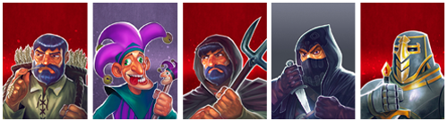 personages uit Royals & Rebels